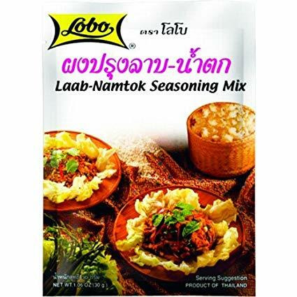 Lobo Laab-namtok Seasoning Mix 30g.
