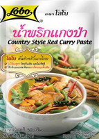LOBO Spice paste country red curry 50g