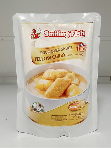 Yellow Curry Smiling Fish  250g