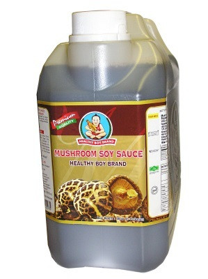 Healthy Boy mushroom soy sauce (sieni-soijakastike) 5l