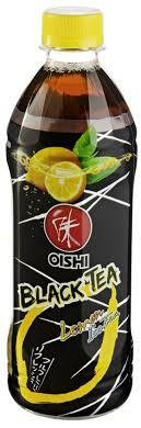 Oishi Black Tea Lemon 500ml (musta tee-lemon)