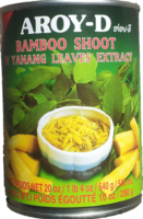 Aroy-D-Bamboo Shoot in Yanang Leaves Extract 540g