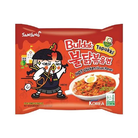Samyang  Buldak Topokki Flavour Spicy hot Chicken Ramen