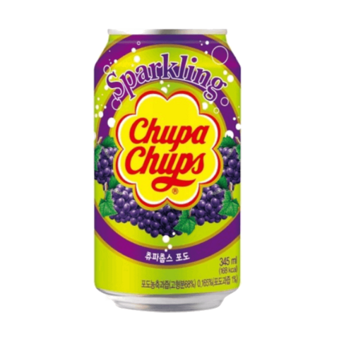 Chupa Chups Grape Soda Rypäle limonadi 345ml