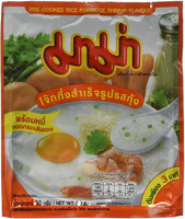 Mama Rice Porridge Shrimp 50g