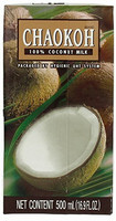 Chaokoh 100% UHT Coconut Milk 500ml