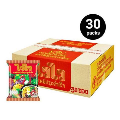Wai Wai Noodle Oriental Style 60g   30 packs. Box