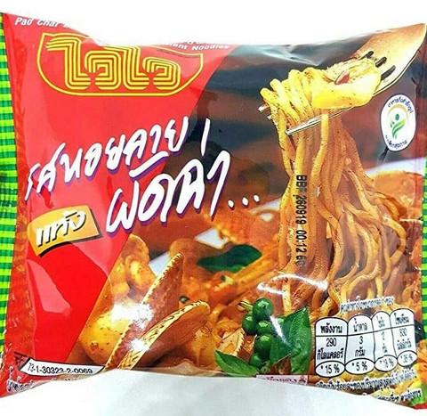 Wai Wai Pad Char Baby Clam Flavour Instant Noodle - 60g x 30pcs. Box