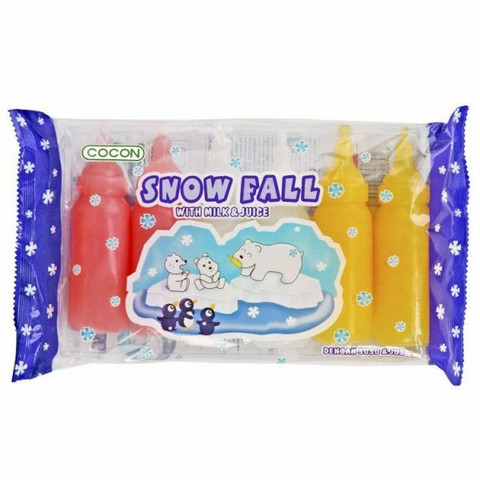 Cocon Snow Fall With Milk and Juice (6 pcs 480ml)