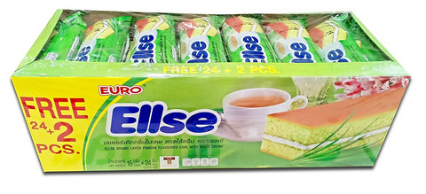 ELLSE Layer Cake Pandan Flavor With White Cream 360g