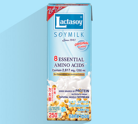 Lactasoy Original Soy Milk – 250 ml