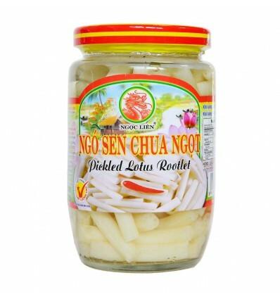 Ngoc Lien Pickled Lotus Rootlet (385gr)