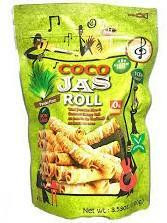 Coco Jas Roll Pandan Flavor 100g GLUTEN FREE
