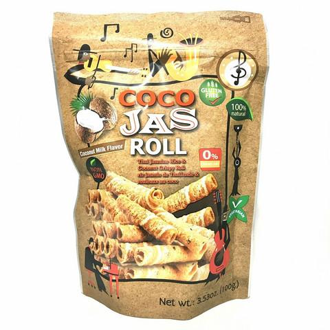 Coco Jas Roll Coconut Milk Flavor 100g GLUTEN FREE