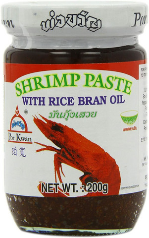 Por Kwan Shrimp Paste with Rice Bran Oil 200g