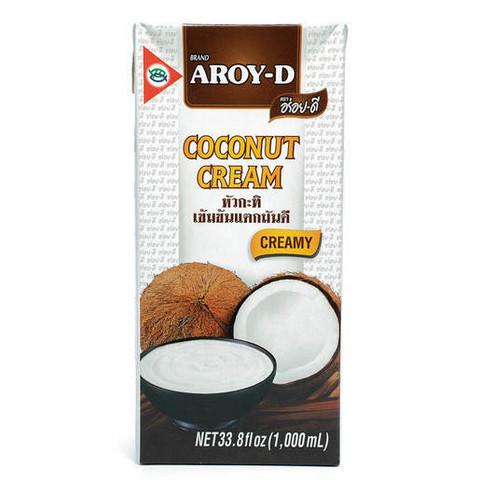 AROY-D Coconut Cream (UHT pack) 1L