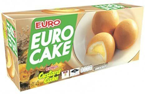 Euro Cake Custard 144g
