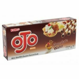 Euro OJO Wafer Stick with Chocolate Flavoured Cream 80 g