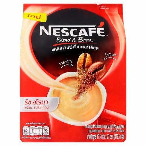 Nescafé Blend & Brew Rich Aroma Coffee Mix Powder 17,5g x 29