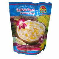 Tapioca Pearl and Sweet Corn, Madam Pum 200g