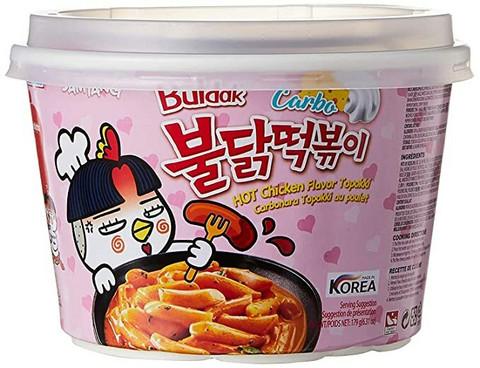 Samyang Buldak Carbo Hot Chicken Flavor Topokki 179g
