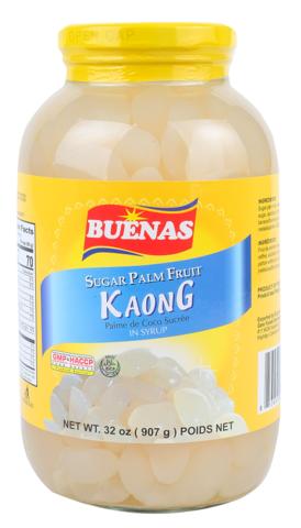 Buenas Kaong  White Sugar Palm Fruit 340g