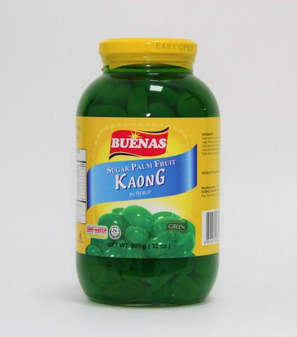 Buenas Kaong Green Sugar Palm Fruit 340g