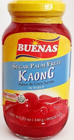 Buenas Kaong Red Sugar Palm Fruit 340g