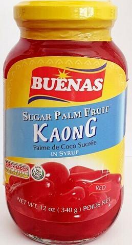 Buenas Kaong Red Sugar Palm Fruit 340g