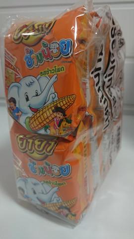 Yum Yum Chang Noi Instant Noodle Corn 12 x 20g Packs