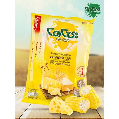 Dozo Rice Cracker Corn Cheese 56g