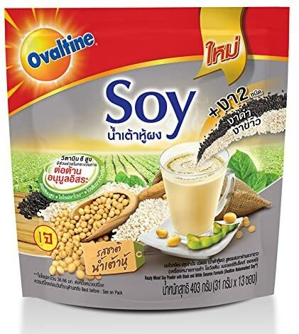 Ovaltine Nature Ready Mixed Soy Powder With Black and White Sesame 364g