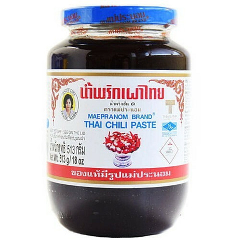 Maepranom Brand Thai Chili Paste 513g
