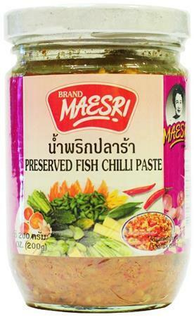 Maesri Preserved Fish Chilli Paste 200g