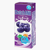 Dutch Mill 4in1 Blueberry Drinking Yoghurt 180ml