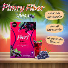 Pimry Fiber Fruit Grape Flavour 126g