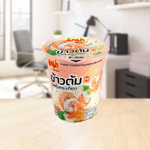 MAMA Cup Rice Soup Garlic Shrimp Flavour