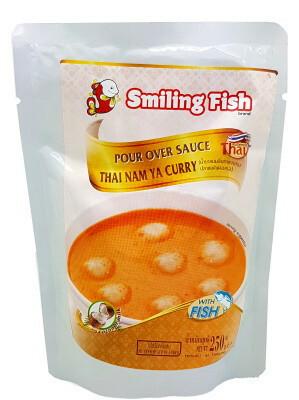 SMILING FISH THAI NAM YA CURRY SAUCE 250G