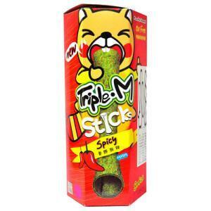 Triple M Sticks Spicy Roasted Seaweed Stick  27gs 27g