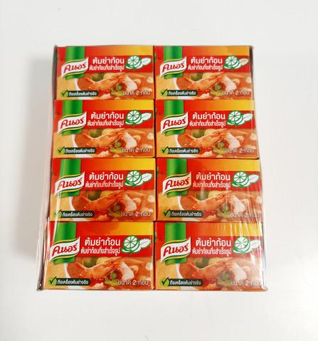 Knorr Tom Yum Seasoning  Cubes 24 x 24g
