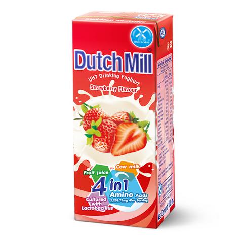 Dutch Mill Strawberry Yoghurt Drink 180ml