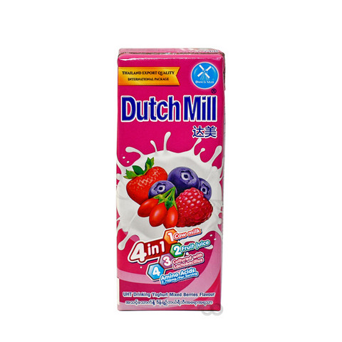 Dutch Mill Mixed Berries Yoghurt Drink 180ml