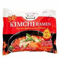 TARJOUS! Jongga KIMCHI RAMEN Noodles Hot & Spicy 122g