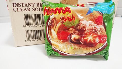 Mama instant bean thread clear soup 30 x 40g