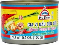 Por Kwan Mince Prawn in Spices 160g