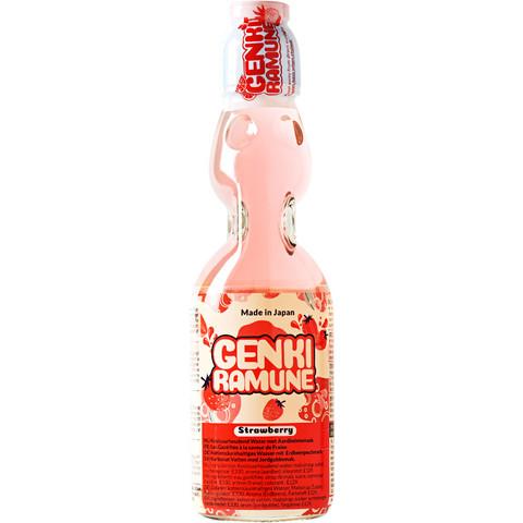 Ramune Strawberry Soda 200ml