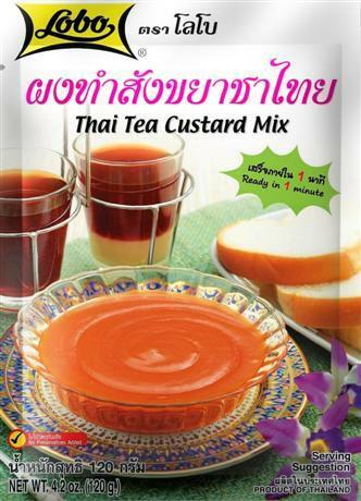 Thai Tea Custard Mix 120g