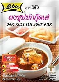 Lobo Bak Kuet Teh Soup 25g