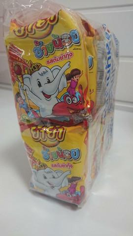 Tarjous!  Yum Yum Chang Noi Instant Noodles Tom Yum Goong 12 x 20g Packs
