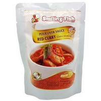 SMILING FISH RED CURRY POUR OVER SAUCE 250G